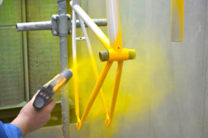 Порошковая окраска металлических изделий своими руками