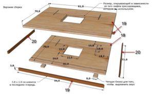 Подвижный стол для фрезера своими руками