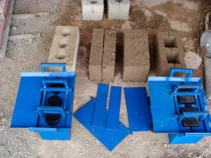 Самодельные блоки для строительства