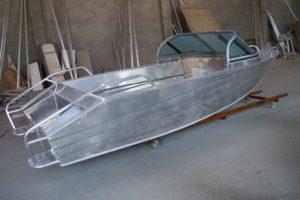 Самодельная лодка из алюминия своими руками