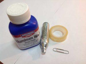 Как почернить алюминий в домашних условиях