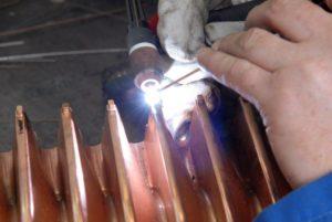 Как варить медь инвертором