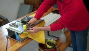 Изготовление вощины своими руками в домашних условиях