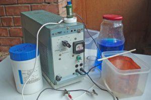 Электрохимическая полировка в домашних условиях