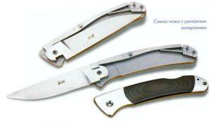 Складной нож своими руками в домашних условиях