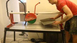 Плиткорез электрический с водяным охлаждением своими руками