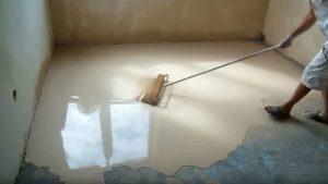 Можно ли класть плитку на наливной пол?