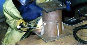 Электросварка чугуна электродами по чугуну