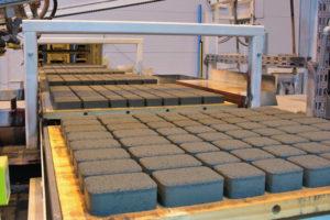 Технология производства тротуарной плитки вибропрессованием