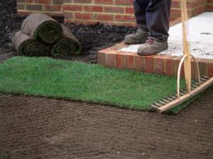 Как правильно укладывать рулонный газон?