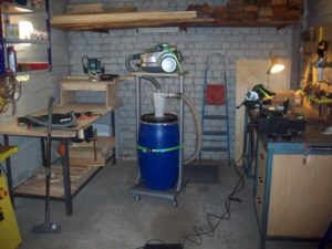 Пылесос для столярной мастерской своими руками