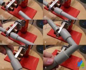 Как спаять полипропиленовые трубы своими руками