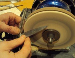 Как правильно точить ножницы?