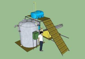 Производство биогаза в домашних условиях