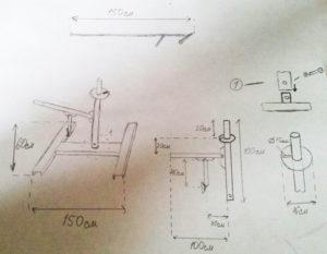 Как сделать ручной шиномонтажный станок своими руками