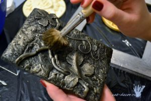 Патинирование серебра в домашних условиях