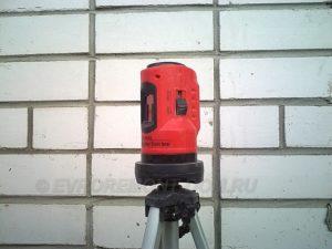 Настройка лазерного уровня своими руками