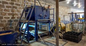 Установка для производства арболитовых блоков