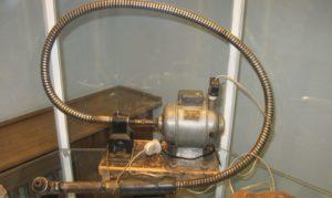 Самодельная бормашина с гибким валом