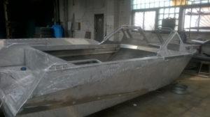 Изготовление лодки из алюминия своими руками
