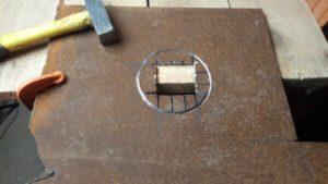 Как сделать ровное отверстие в металле?