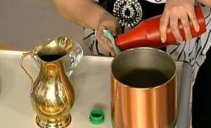 Как почистить олово в домашних условиях