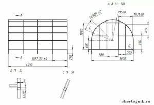 Как правильно согнуть профильную трубу для теплицы?