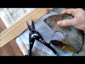 Как правильно заточить ножницы по металлу?