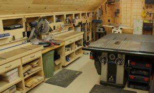 Столярная мастерская в гараже своими руками
