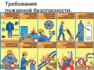 Техника безопасности при сварочных работах ГОСТ