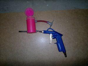 Самодельный пескоструйный пистолет