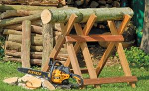 Козлы для распилки дров своими руками
