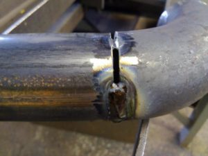 Сварка тонкостенных труб инвертором