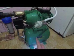 Почему гидрофор не набирает давление?