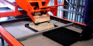 Технология производства тротуарной плитки методом вибролитья