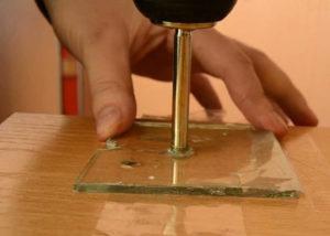 Сверлить стекло своими руками