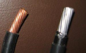 Как отличить медный провод от алюминиевого