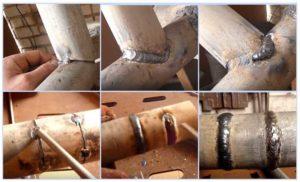 Какими электродами лучше варить трубы отопления