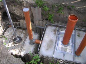 Дачная канализация без откачки своими руками