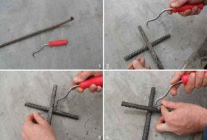Как правильно вязать арматуру?
