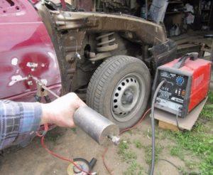 Споттер для кузовного ремонта своими руками