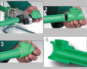 Как правильно сваривать полипропиленовые трубы?