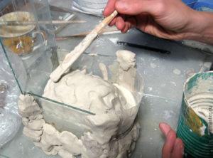 Изготовление форм для литья из гипса