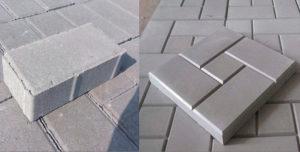 Вибролитьевая тротуарная плитка и вибропрессованная что лучше?