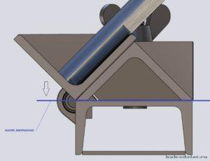 Загибочный станок для листового металла своими руками