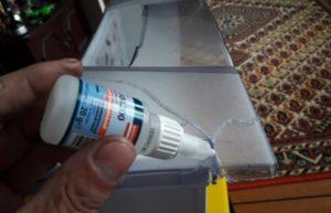 Самодельный клей для пластмассы