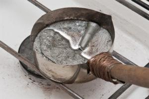 Как расплавить олово в домашних условиях