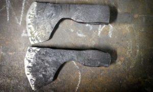 Как правильно закалить топор?