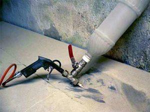 Как сделать пескоструйку в домашних условиях
