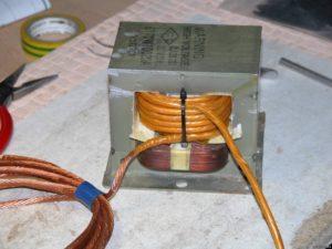 Как рассчитать трансформатор для точечной сварки?
